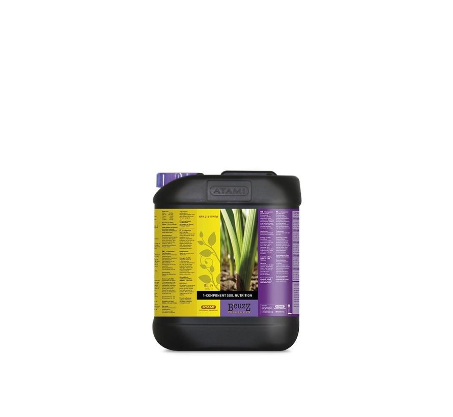 Atami B'cuzz 1 Component Nutrition 5 Liter