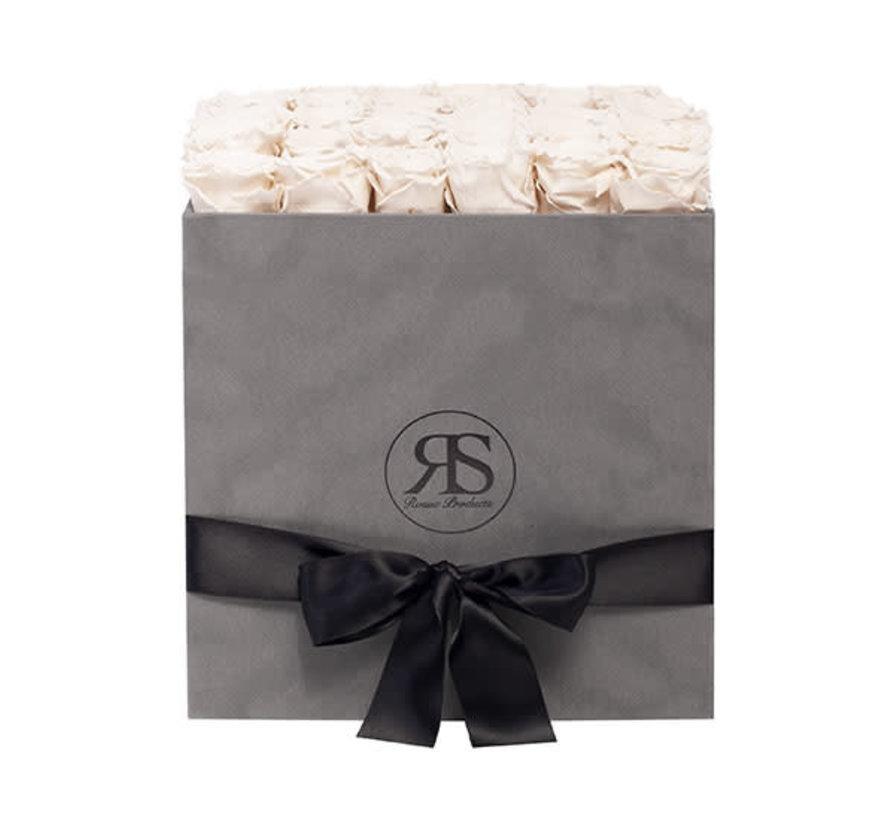 Rosuz Flowerbox Longlife Celine Weiß