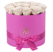 Rosuz Flowerbox Longlife Ciara Weiß