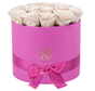 Flowerbox Longlife Ciara Weiß