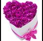 Flowerbox Longlife Ella Metallic Rosa