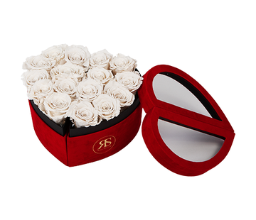 Rosuz Flowerbox Longlife Scarlet Weiß