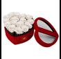 Flowerbox Longlife Scarlet Weiß