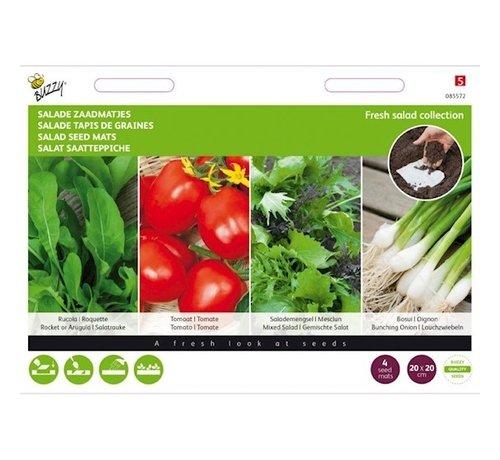 Buzzy Salat Samenmatten 4 Stück