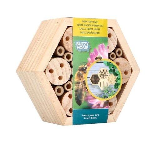 Buzzy Insektenhaus Sechseckig für Bienen