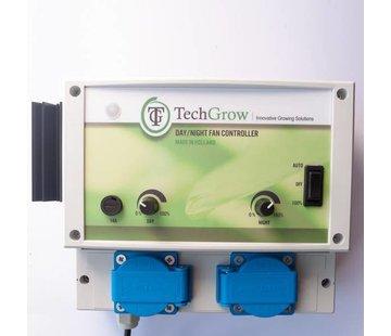 Techgrow Tag / Nacht-Lüftersteuerung