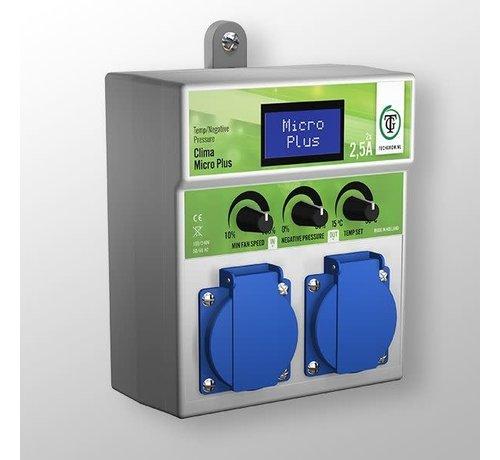 Techgrow Klima Mikro Plus 2X2.5A Negativer Druck