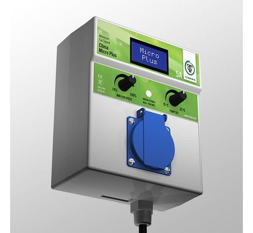 Techgrow Klima Mikro Plus 5A Minimum Geschwindigkeit