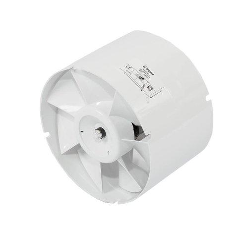 S-vent VK 125 max 190 m³/h Rohrventilator