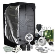 Mammoth Lite 90+ Growbox Komplettset 1x400W HPS Beleuchtung 90x90x180 cm