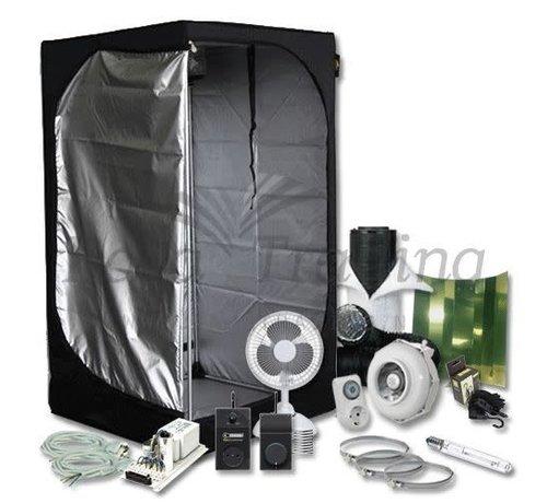 Mammoth Lite 90+ Growbox Komplettset 1x400 Watt HPS Beleuchtung 90x90x180 cm
