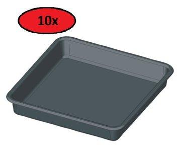 Fertraso Tropfschale Quadratisch 29x29 cm - 10 Stück