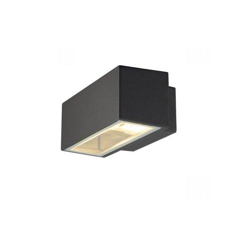 SLV Außenwandleuchte Box R7S - anthrazit