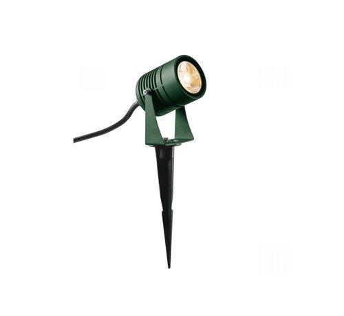 SLV Outdoor-Bodenspot Led Spike - grün