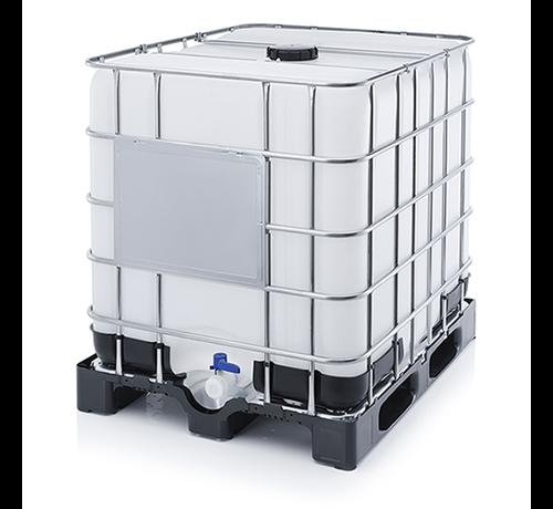 Wasserbehälter auf Laderost 1000 Liter