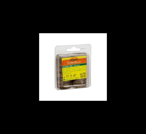 Romberg Boller tabs 20 Stück Kokos-Quelltabletten 36 mm