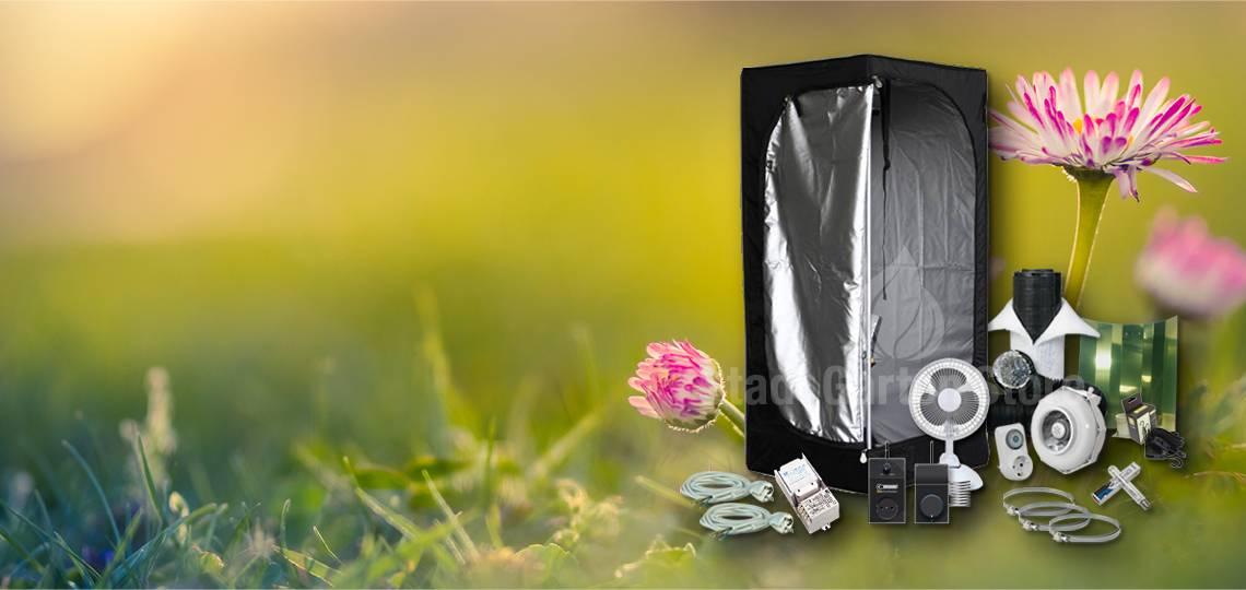 Kompletter Growbox 60x60 mit 250W HPS Licht