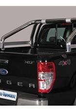 Stylingbar 76mm - Ford Ranger - Dubbel Cabine - 2016+