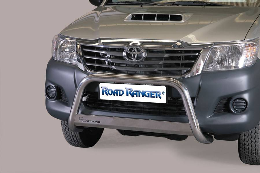 Pushbar 63mm - Toyota Hilux - Dubbel Cabine - Extended Cab -  2006+