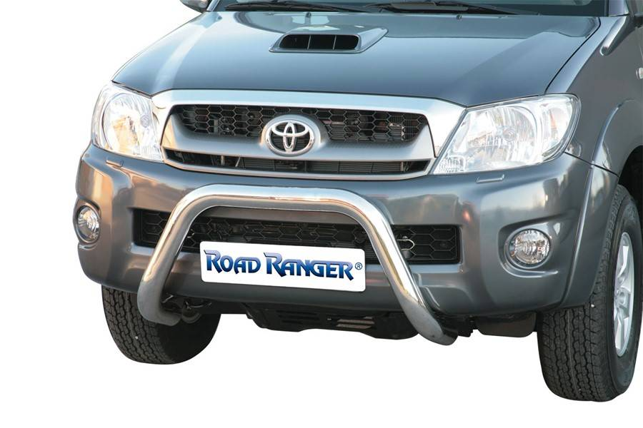 Pushbar 76mm - Toyota Hilux - Dubbel Cabine - Extended Cab -  2006+