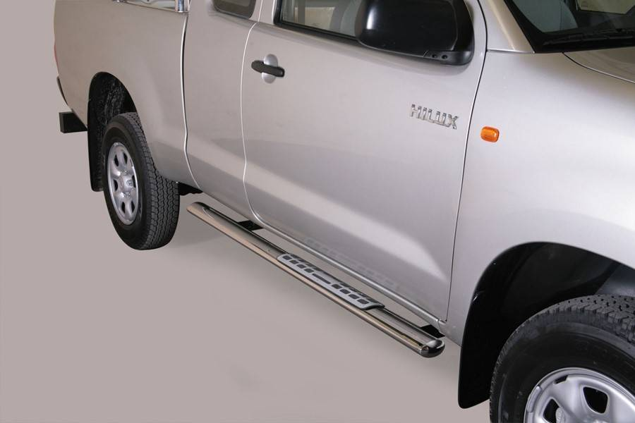 Sidebar ovaal 1 - Toyota Hilux Dubbel Cab & Extended Cab - 2006+