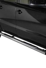 Sidebar rond - Volkswagen Amarok - Dubbel Cabine