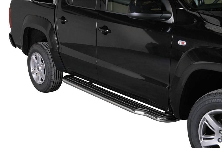 Sidebar plat - Volkswagen Amarok - Dubbel Cabine