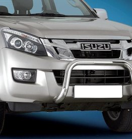 Pushbar RVS 60mm - D-max - 2012+
