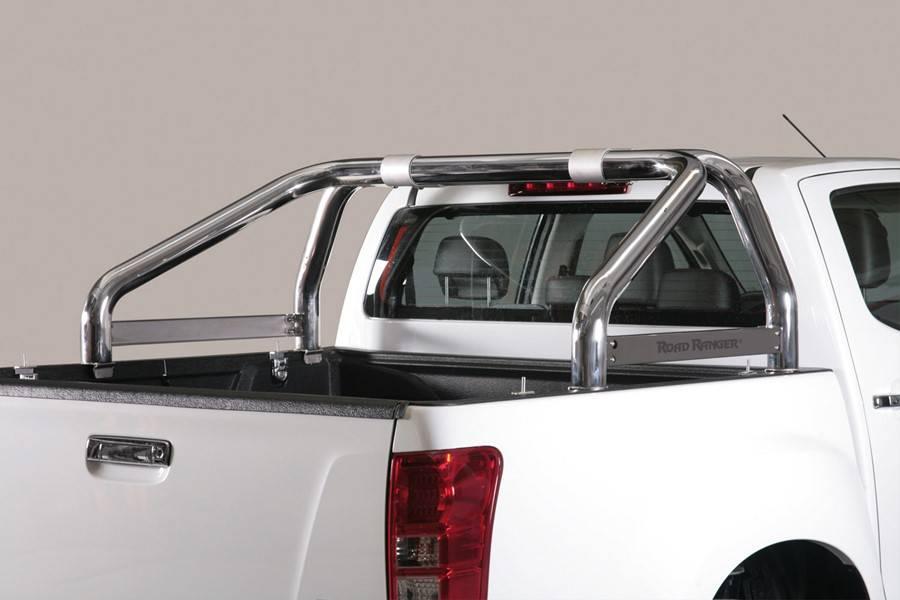 Stylingbar 76mm - Iszuz D-max - Dubbel Cabine - Space Cab - 2012+ / 2017+