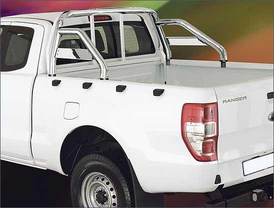 Stylingbar 60mm - Ford Ranger - Dubbel Cabine