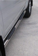 Sidebar rond - Nissan D40 Dubbel Cabine - 2005 tot 2015