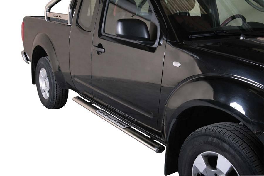Sidebar ovaal 1 - Nissan D40 King Cab - 2005 tot 2015