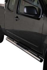 Sidebar rond - Nissan D40 King Cab - 2005 tot 2015