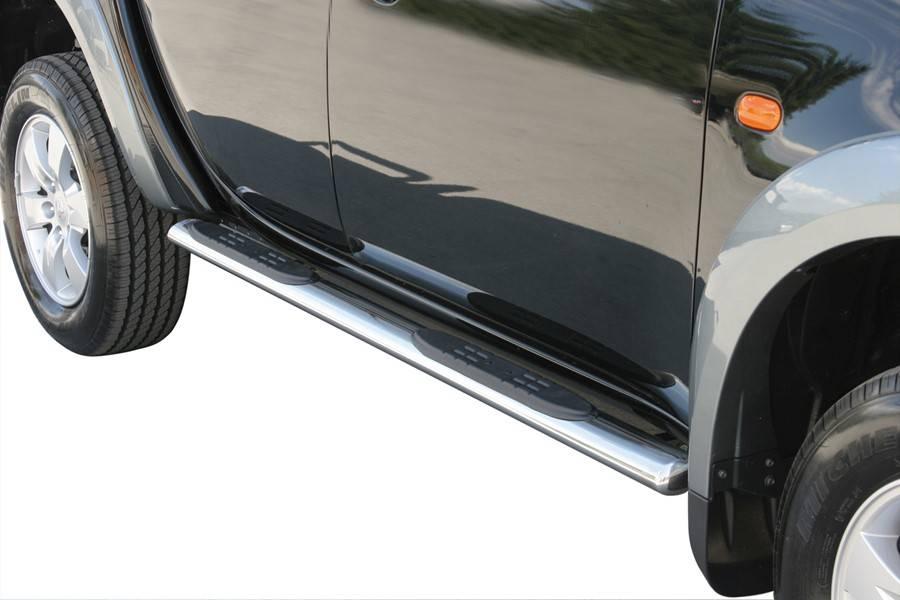 Sidebar ovaal - Fiat Fullback Dubbel Cabine - 2016+