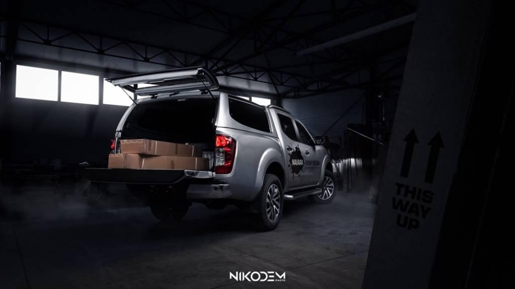 Hardtop RH5 - Nissan Navara NP300 - Dubbel Cabine