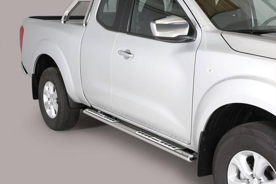 Sidebar ovaal - Nissan Navara NP300 Kingcab - 2015+