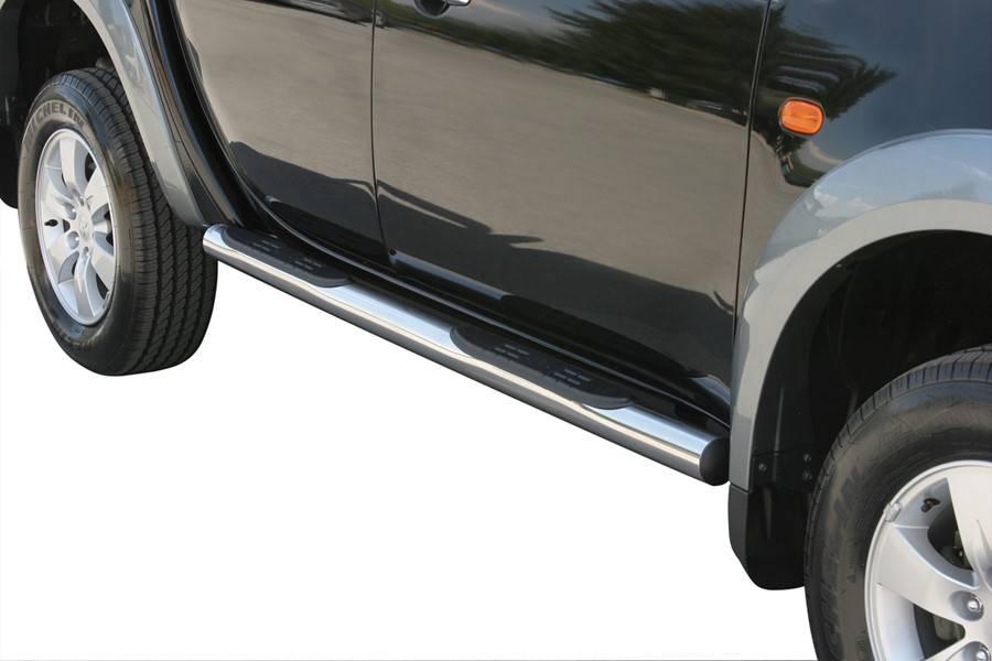 Sidebar rond - Nissan Navara NP300 Kingcab - 2015+