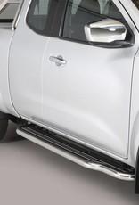 Sidebar plat - Nissan Navara NP300 Kingcab - 2015+