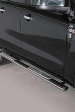 Sidebar ovaal - Ford Ranger - Dubbel cabine