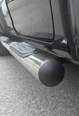 Sidebar rond - Isuzu D-max Dubbel Cabine - Space Cabine - 2012+