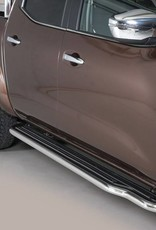 Sidebar plat - Renault Alaskan - Dubbel Cabine