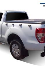ALUMINIUM TONNEAU COVER FORD RANGER 2012+ DOUBLE CAB/SUPER CAB (Compatible OE SPORTBAR)