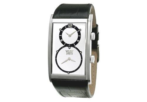 Davis Dual Timer Watch White 1321 L2 van 99 voor