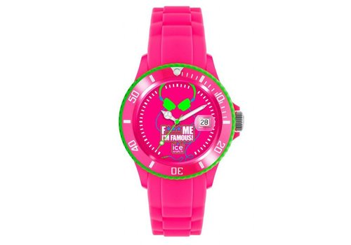 Ice Watch Fuck me Im famous FM.SS.FPH.BB.S.11  fluo pink extra groot