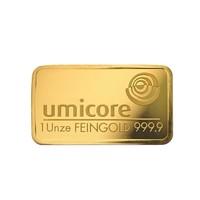 Goudbaar Umicore  31.1 gram