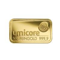Goudbaar Umicore 50 gram