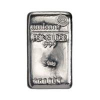 Zilverbaar Umicore  500 gram