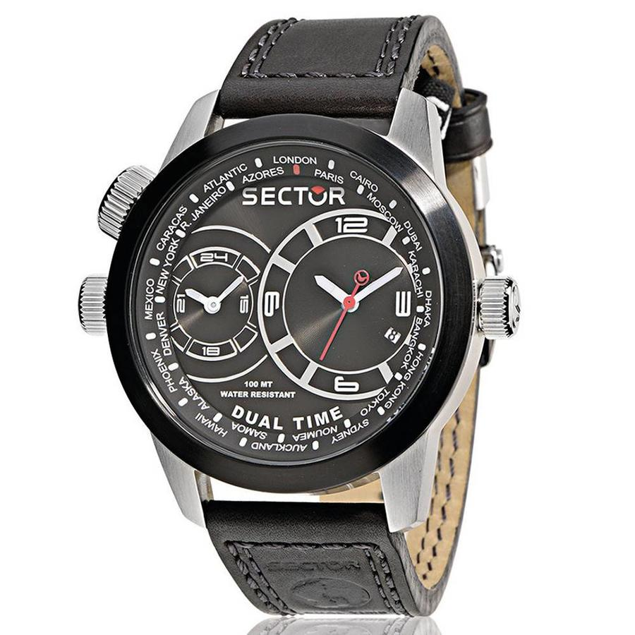 Sector Oversize dual time