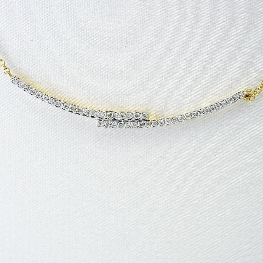 14 krt. geel gouden collier