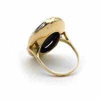 14krt gouden ring  met Sodaliet